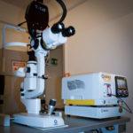 laser micropulsato a lunghezza d'onda gialla